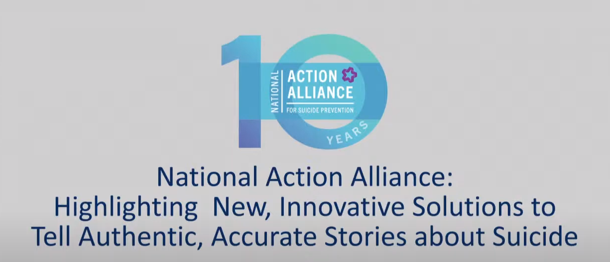Action Alliance Virtual Press Event