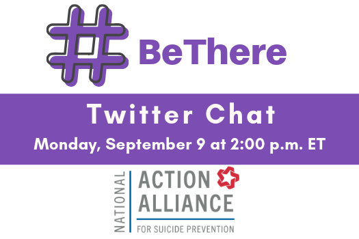 #BeThere Twitter Chat