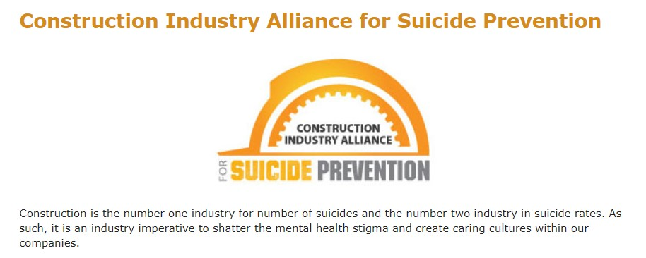 Construction Industry Alliance for Suicide Prevention