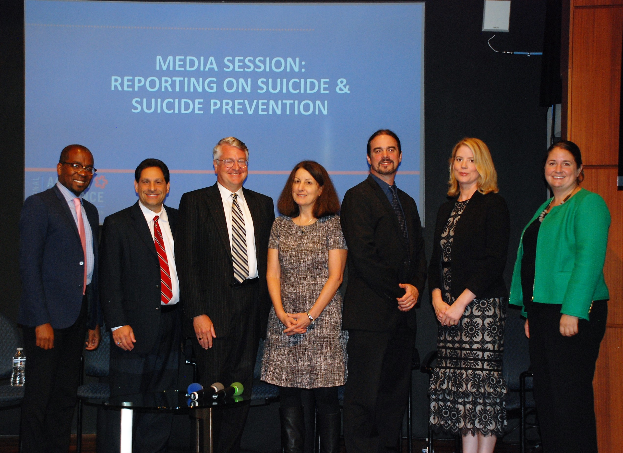 Educational Media Session: Reporting on Suicide