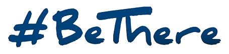 Be There logo