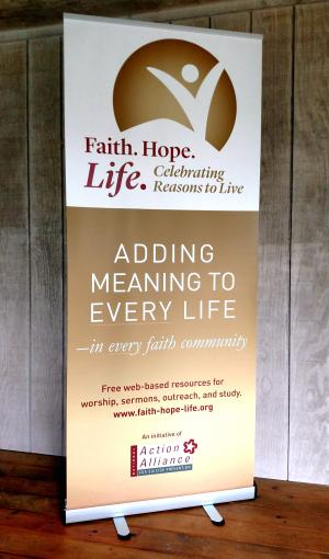 Faith.Hope.Life. Banner