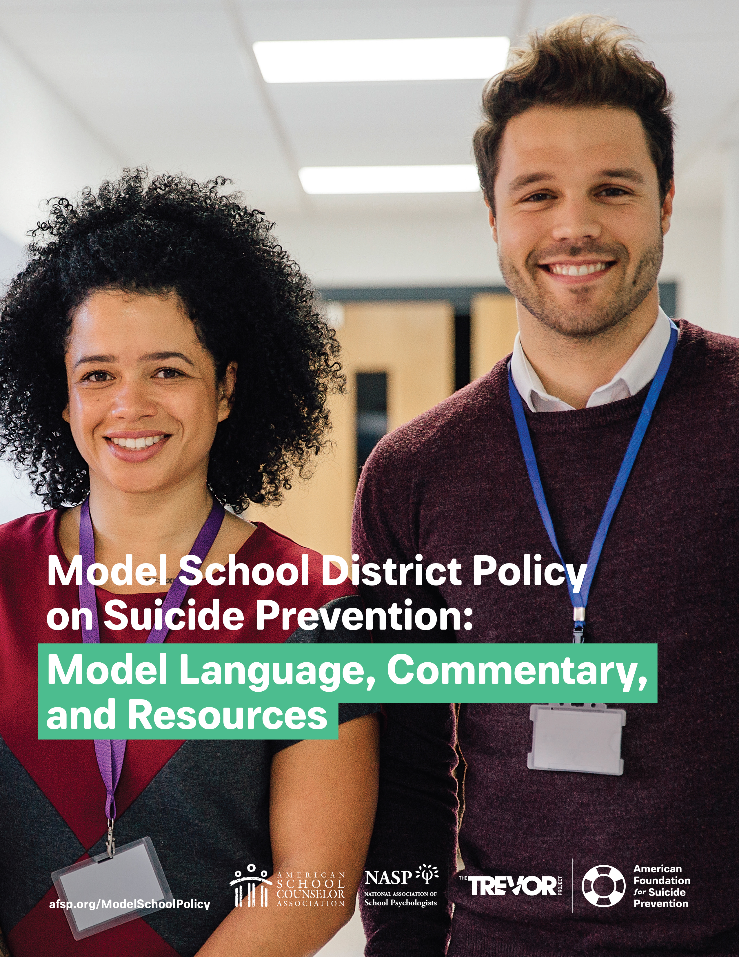 Model School District Policy on Suicide Prevention: Model Language, Commentary, and Resources