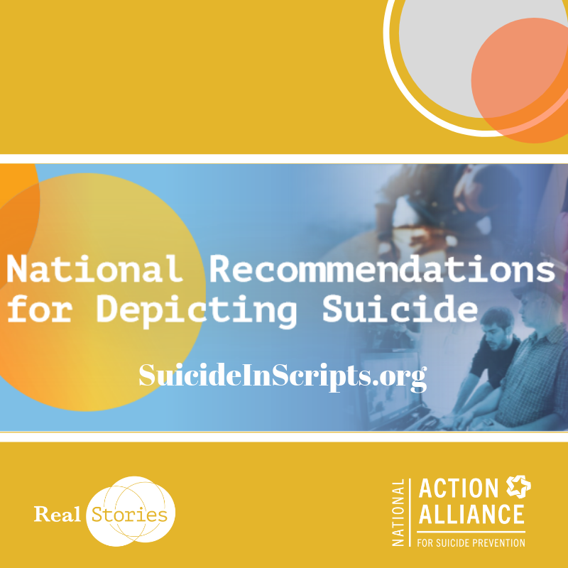 National Recommendations for Depicting Suicide