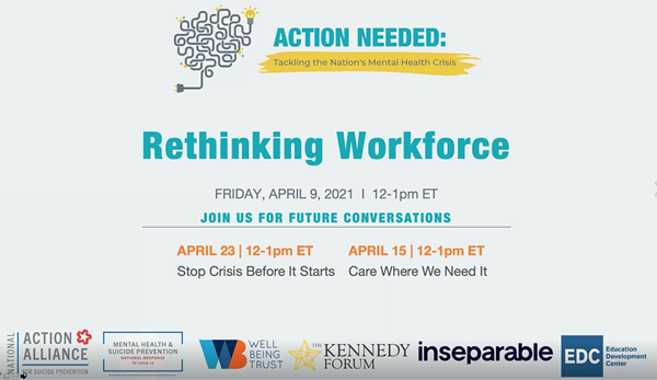 National Response Congressional Briefing Series - Rethinking Workforce