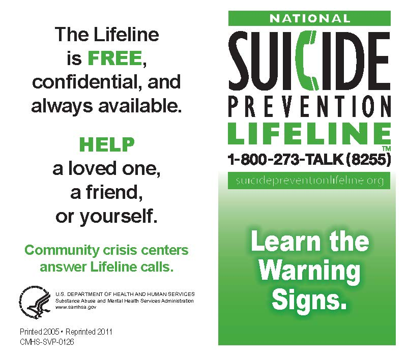 Common Warning Signs of Suicide